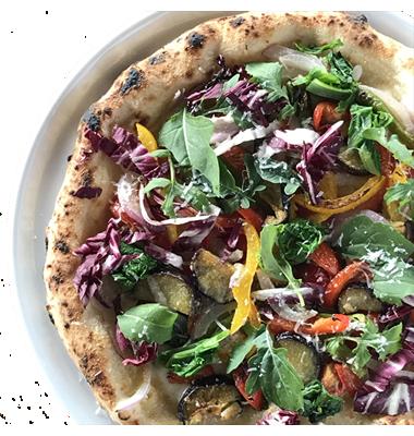 湘南夏野菜のオルトラーナピッツァ